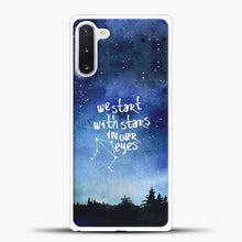 Load image into Gallery viewer, Dear Evan Hansen You Are You Star In Our Eyes Samsung Galaxy Note 10 Case