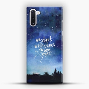 Dear Evan Hansen You Are You Star In Our Eyes Samsung Galaxy Note 10 Case