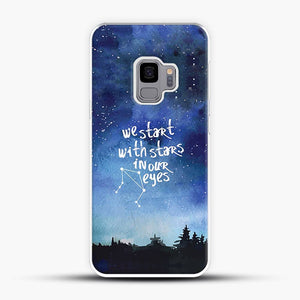 Dear Evan Hansen You Are You Star In Our Eyes Samsung Galaxy S9 Case