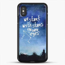Load image into Gallery viewer, Dear Evan Hansen You Are You Star In Our Eyes iPhone XS Case
