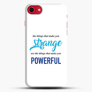 Dear Evan Hansen You Are You White Background iPhone 8 Case