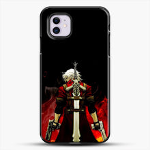 Load image into Gallery viewer, Devil Anime Fire iPhone 11 Case, Black Plastic Case | JoeYellow.com