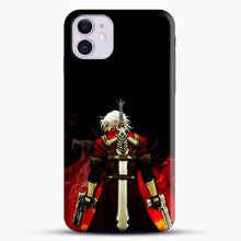 Load image into Gallery viewer, Devil Anime Fire iPhone 11 Case, Black Snap 3D Case | JoeYellow.com
