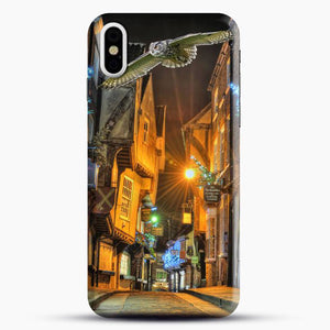 Diagon Alley Flying Bird iPhone X Case