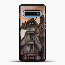 Load image into Gallery viewer, Diagon Alley Orange Cloud Samsung Galaxy S10 Case