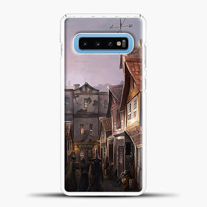Diagon Alley Witchs House Samsung Galaxy S10 Case