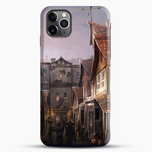 Diagon Alley Witchs House iPhone 11 Pro Max Case