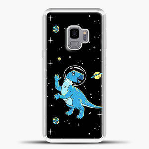 Dinosaurs In Space Cool Wall Samsung Galaxy S9 Case