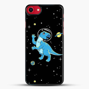 Dinosaurs In Space Cool Wall iPhone 7 Case