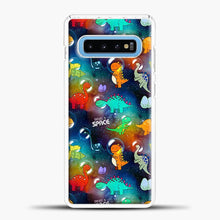 Load image into Gallery viewer, Dinosaurs In Space Gradient Wallpaper Samsung Galaxy S10 Case