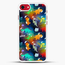 Load image into Gallery viewer, Dinosaurs In Space Gradient Wallpaper iPhone 7 Case