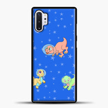 Load image into Gallery viewer, Dinosaurs In Space Stars Pattern Samsung Galaxy Note 10 Plus Case