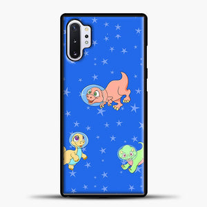 Dinosaurs In Space Stars Pattern Samsung Galaxy Note 10 Plus Case