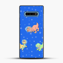 Load image into Gallery viewer, Dinosaurs In Space Stars Pattern Samsung Galaxy S10 Case