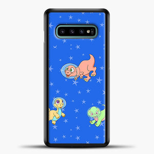 Dinosaurs In Space Stars Pattern Samsung Galaxy S10e Case