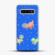 Load image into Gallery viewer, Dinosaurs In Space Stars Pattern Samsung Galaxy S10e Case