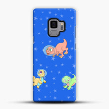 Load image into Gallery viewer, Dinosaurs In Space Stars Pattern Samsung Galaxy S9 Case