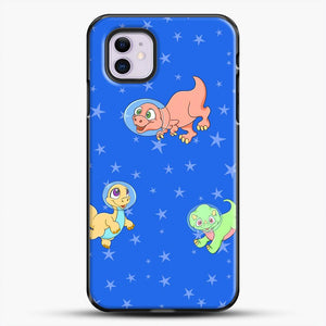 Dinosaurs In Space Stars Pattern iPhone 11 Case