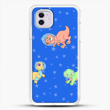 Load image into Gallery viewer, Dinosaurs In Space Stars Pattern iPhone 11 Case