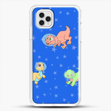 Load image into Gallery viewer, Dinosaurs In Space Stars Pattern iPhone 11 Pro Case
