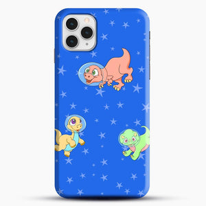 Dinosaurs In Space Stars Pattern iPhone 11 Pro Case