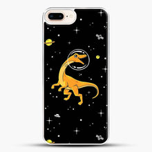 Load image into Gallery viewer, Dinosaurs In Space Yellow And Orange iPhone 7 Plus Case