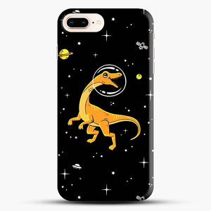 Dinosaurs In Space Yellow And Orange iPhone 7 Plus Case