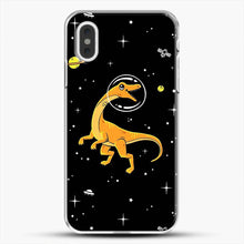 Load image into Gallery viewer, Dinosaurs In Space Yellow And Orange iPhone XS Max Case