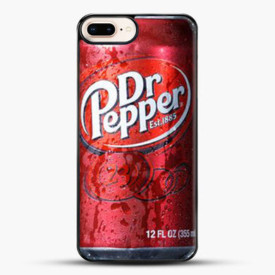Doctor Pepper iPhone 7 Plus Case, Black Plastic Case | JoeYellow.com