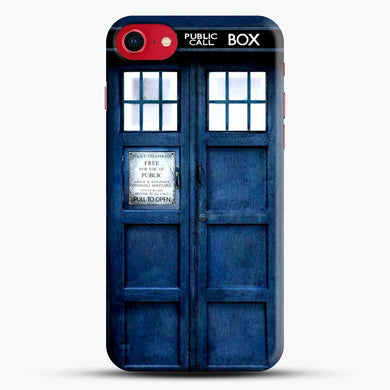 Doctor Who Tardis iPhone 8 Case, Black Snap 3D Case | JoeYellow.com