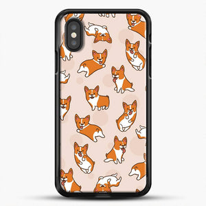 Doggy Doodle Corgi And Buble iPhone XS Case