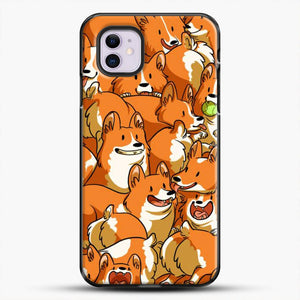 Doggy Doodle Corgi Art iPhone 11 Case