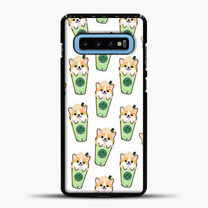 Doggy Doodle Green Glass Samsung Galaxy S10 Case