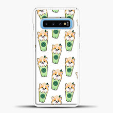 Load image into Gallery viewer, Doggy Doodle Green Glass Samsung Galaxy S10 Case