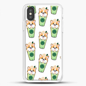 Doggy Doodle Green Glass iPhone X Case