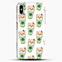 Load image into Gallery viewer, Doggy Doodle Green Glass iPhone X Case