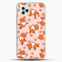 Load image into Gallery viewer, Doggy Doodle Pink Background iPhone 11 Pro Case