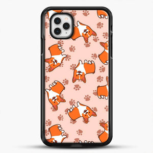 Doggy Doodle Pink Background iPhone 11 Pro Case