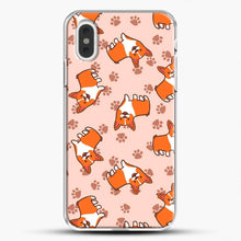 Load image into Gallery viewer, Doggy Doodle Pink Background iPhone XS Max Case