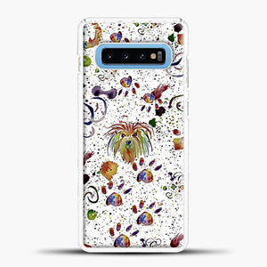 Doggy Doodle Watercolor Image Samsung Galaxy S10 Case