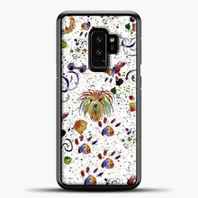 Load image into Gallery viewer, Doggy Doodle Watercolor Image Samsung Galaxy S9 Plus Case