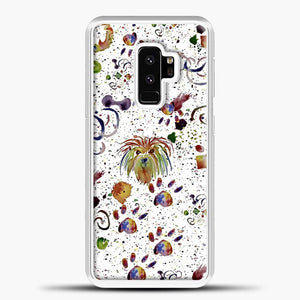 Doggy Doodle Watercolor Image Samsung Galaxy S9 Plus Case