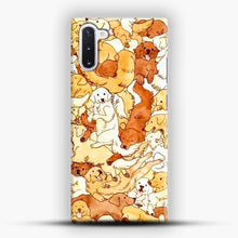 Load image into Gallery viewer, Doggy Doodle White And Chocolate Samsung Galaxy Note 10 Case