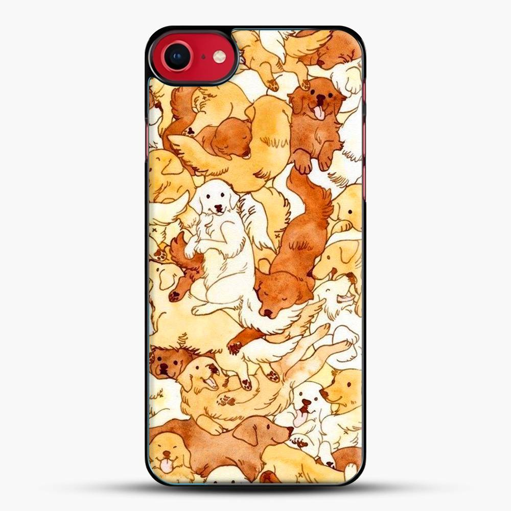 Doggy Doodle White And Chocolate iPhone 7 Case