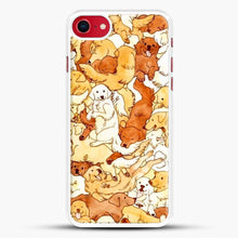 Load image into Gallery viewer, Doggy Doodle White And Chocolate iPhone 7 Case