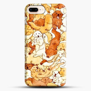 Doggy Doodle White And Chocolate iPhone 7 Plus Case
