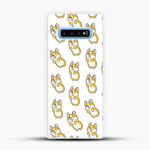 Doggy Doodle Yellow Image Samsung Galaxy S10 Case