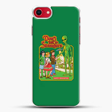 Load image into Gallery viewer, Dont Talk To Strangers Green Background iPhone 7 Case