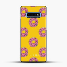 Load image into Gallery viewer, Donut Worry Be Happy Samsung Galaxy S10 Case