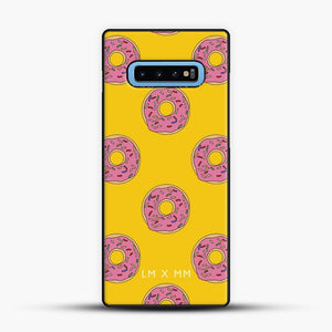 Donut Worry Be Happy Samsung Galaxy S10 Case